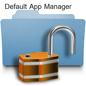 Default Application Manager default