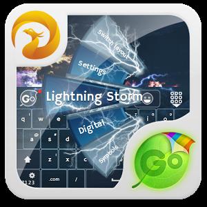 Lightning Storm GO Keyboard
