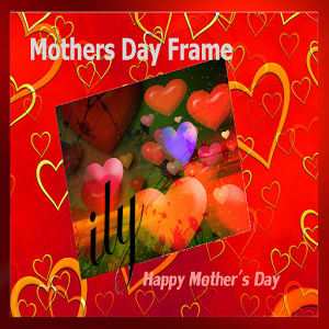Mothers Day Frame horn mothers
