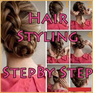 Hair Styling Step By Step koleji qibla step