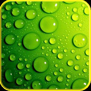 3D Raindrops effects live WP