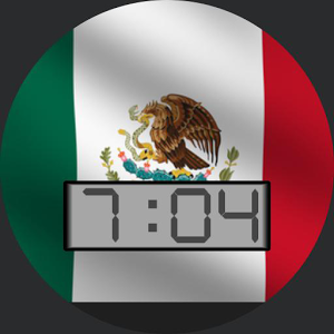 Mexico Flag for WatchMaker