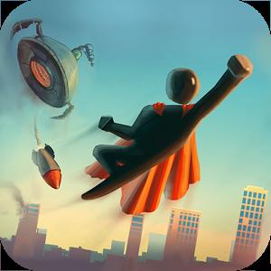 Superhero Stickman