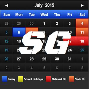 Calendar Singapore +PH +SH