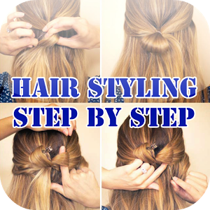 Hair Styling Step by Step doa qibla step