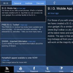 B.I.G. Mobile App