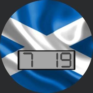Scotland Flag for WatchMaker