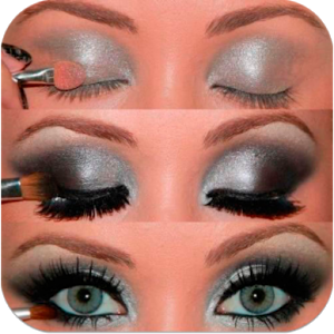 Makeup Your Eyes Step by Step direction koleji step