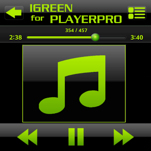 PlayerPro Skin I GREEN playerpro quot skin
