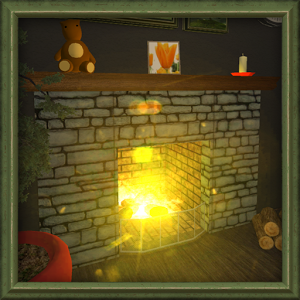 Warm Fireplace Live Wallpaper