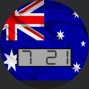 Australia Flag for WatchMaker
