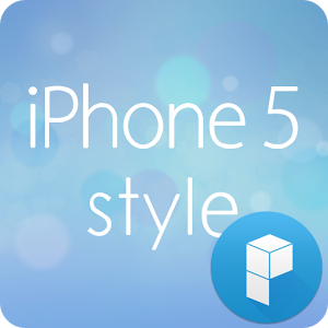iphone 5 style 런처플래닛 테마