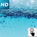 Touch HD LWP: Water bubbles