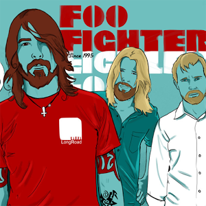 Foo Fighters bike champions fighters