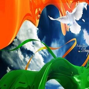 4D Indian Flag LWP