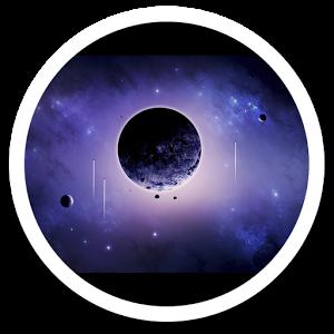 Galaxy s5 Blackhole Galaxy LWP galaxy