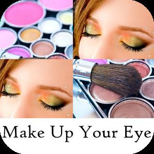 Makeup your Eyes Step by Step direction koleji step