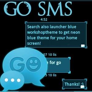 GO SMS Pro Ice Minimal Buy