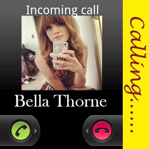 Bella Thorne Calling Fans