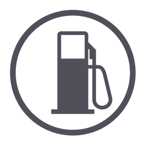 Fuel consumption connection consumption gauge