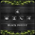 Black Forest Theme Go Launcher