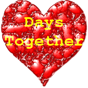 Days together counter