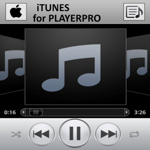 PlayerPro Skin ITUNES cool playerpro skin