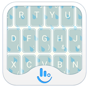 Weather Rainy Keyboard Theme