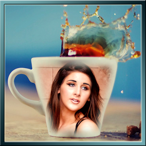 Coffee Mug Photo Frame Collage