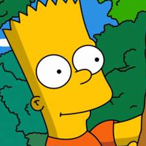 Bart Simpson background bart simpson doing lisa