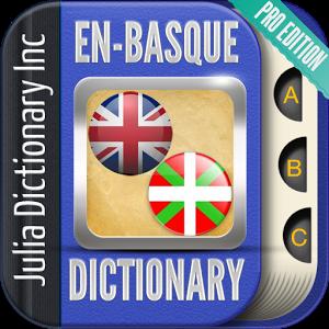 English Basque Dictionary Pro