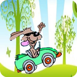 Scooby Dog Fun Racing Game