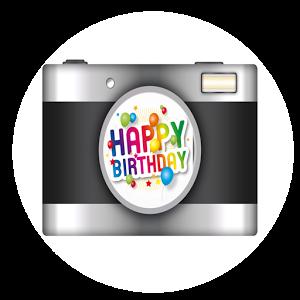 Happy Birthday Sticker Camera comic happy sticker