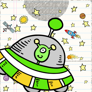 Doodle Space Air Hockey