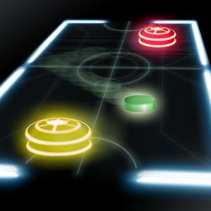 Air Hockey Glow