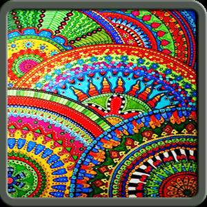Zentangle Pattern Step By Step koleji qibla step