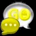 GO SMS Pro Canary Glass Theme
