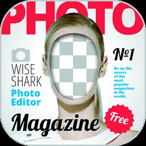 Magazine Photo face magazine photo