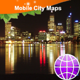 Perth Street Map