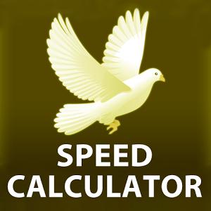 PIGEON RACING SPEED CALCULATOR calculator flew racing