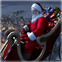 Santa 3D Christmas WALLPAPER