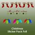 Christmas Sticker Pack Full full hack pack