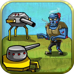 Zombie Tower Defence hidup tower zombie