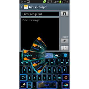 GO Keyboard Electric Theme PRO