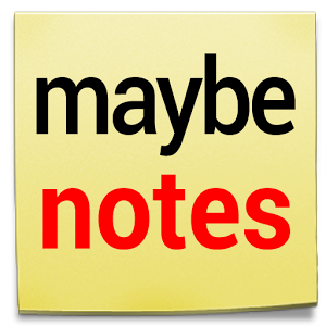 Maybe Notes
