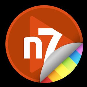 n7player Skin - Orange Red