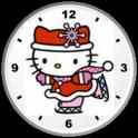 Hello Kitty Christams Clock