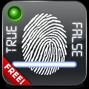 Fingerprint Lie Detector Free free spyware detector