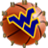 West Virginia Basketball Clock