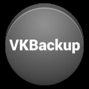 VK Backup backup